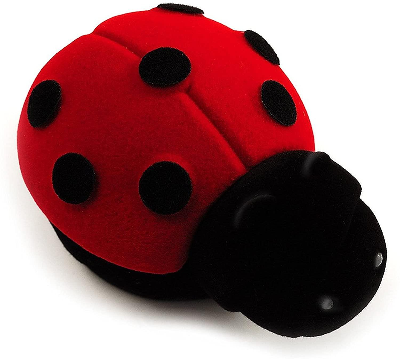 Avalaya Happy Ladybug Box for Rings