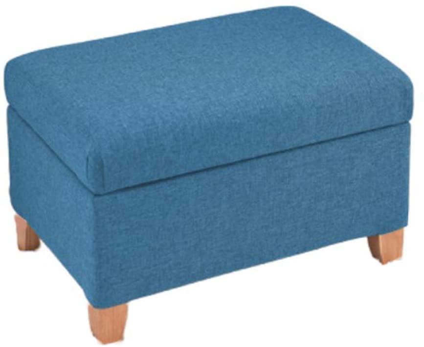 HEWEI Aufbewahrungsboxen Osmanisches Rechteck Wechselschuhe Fußhocker Rest Holz Fußschemel Pouffes Multifunktionshocker Stuhl Für Umkleidekabine Schlafzimmer