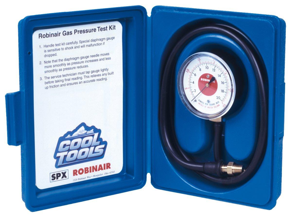 Robinair 42160 Gas Manifold Pressure Test Kit, 0-35