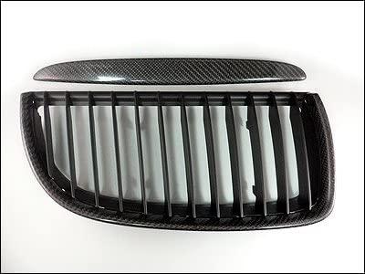 AutoTecknic Carbon Fiber Front Grille - BMW e90/ e91 pre-facelift 3 series sedan/ wagon