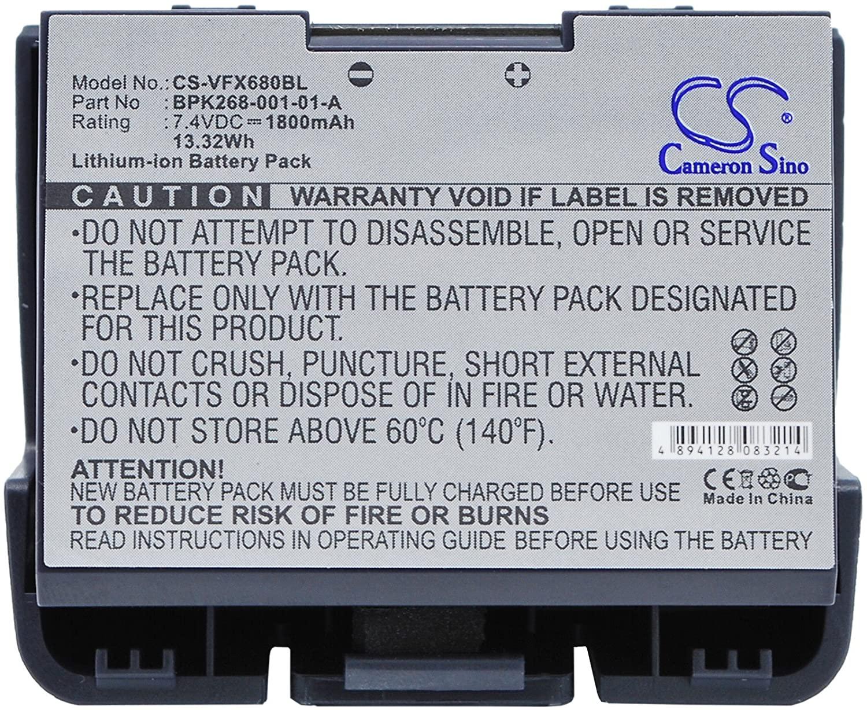 Battery Replacement for VeriFone BPK268-001-01-A VX680,vx680 wireless credit card mac,VX680 wireless terminal