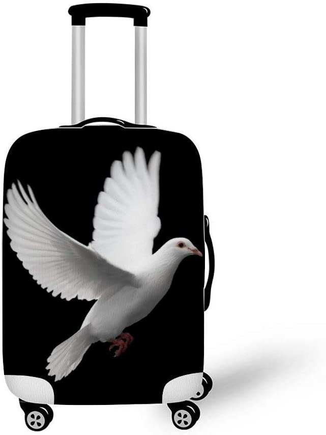 Dove Fashionable Baggage Suitcase Protector Travel Luggage Cover Anti-Scratch