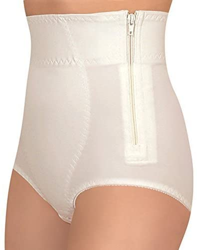 Medical Grade POSTPARTUM SUPPORT GIRDLE, Postnatal Body Control Panties, Tummy Shaper (X-Large, White) by Tonus Elast