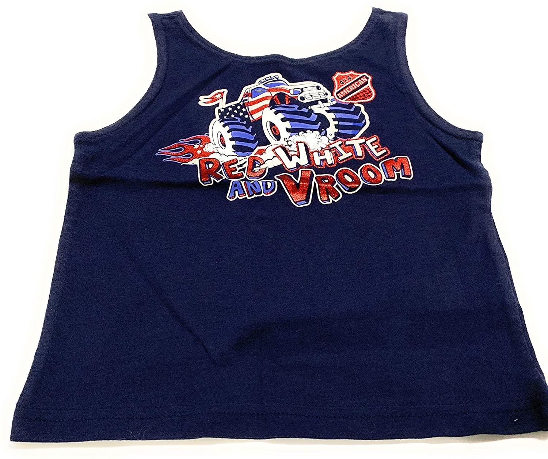 Toughskins Infant Boys Muscle T Shirt Size 24 Months Navy