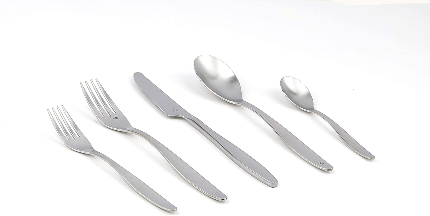 Gourmet Settings Fok Collection 20pc Flatware Sets (Gather 20 Pc)