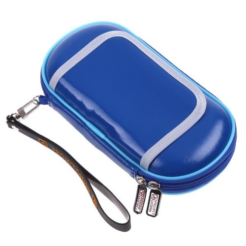 TOMTOP Blue Hard Game Protect Pouch Pocket Case for Sony PSV PSVita(without retail package)