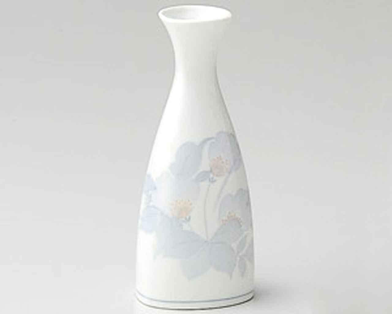 Triangle 2.8inch Sake carafe White porcelain Made in Japan