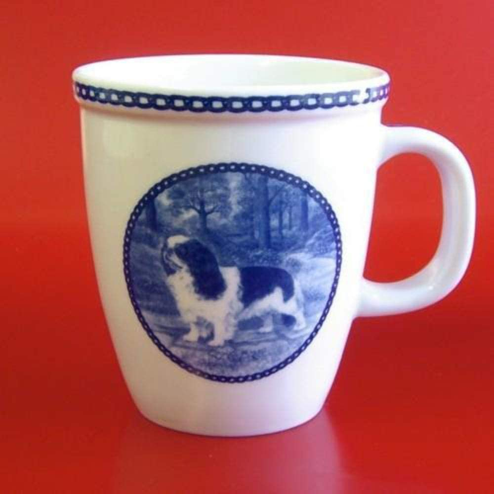 King Charles Spaniel Porcelain Mug For all Dog Lovers Size 4.2 inches