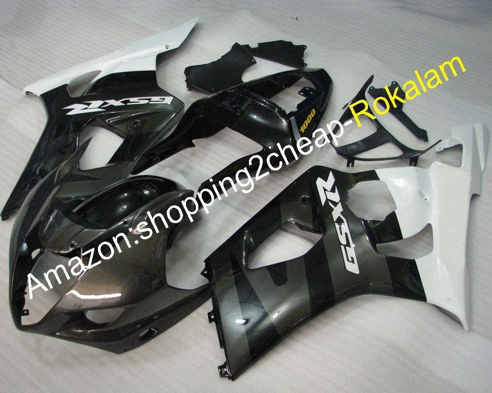 For Fairing GSXR1000 GSX-R1000 03 04 K3 2003 2004 GSX-R 1000 Bodywork Black White Gray Fairings (Injection molding)