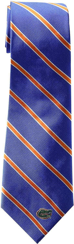 ZEP-PRO NCAA Mens Woven Silk Stripe Logo Tie 2