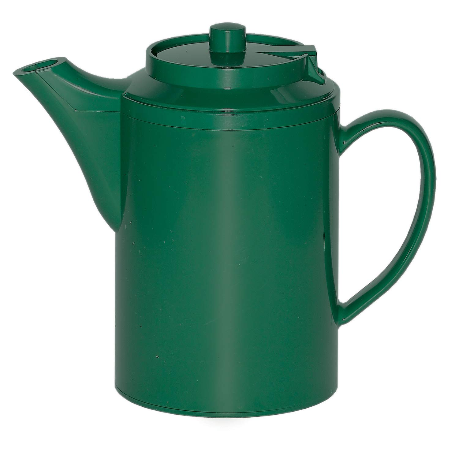 Service Ideas TS612FG Double Wall Teapot 16oz, Forest Green
