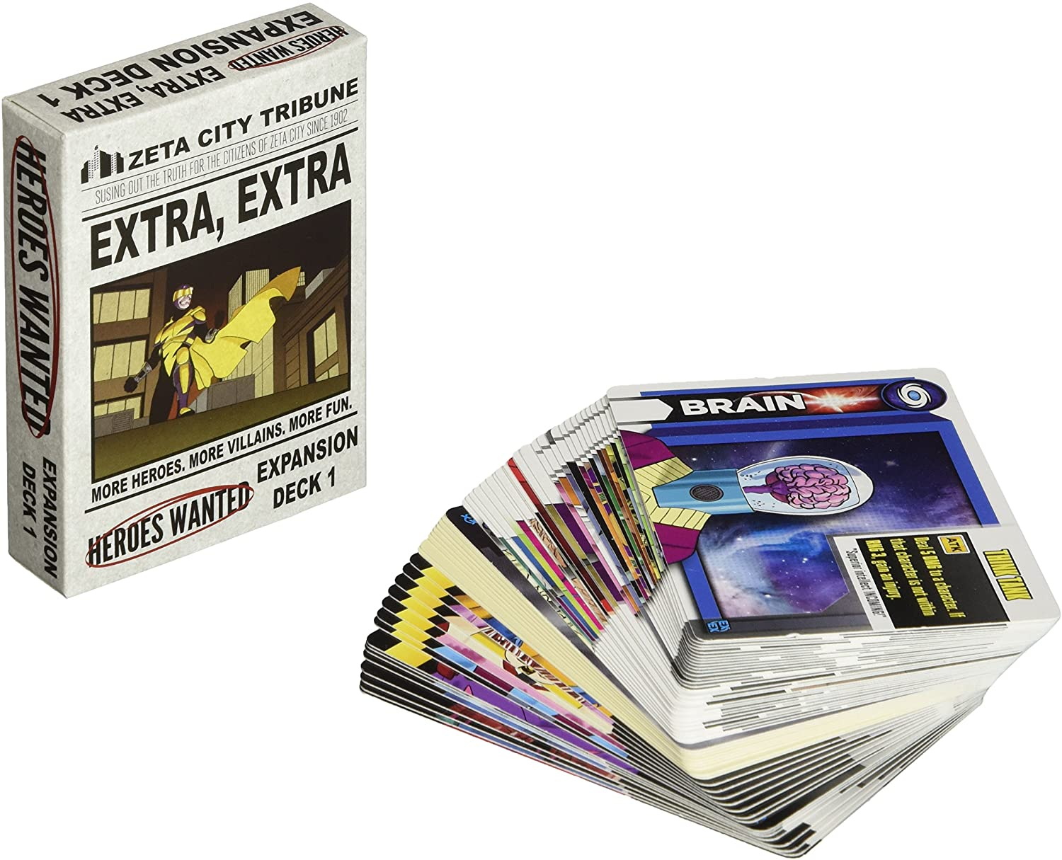 Heroes Wanted: Extra, Extra Card Game
