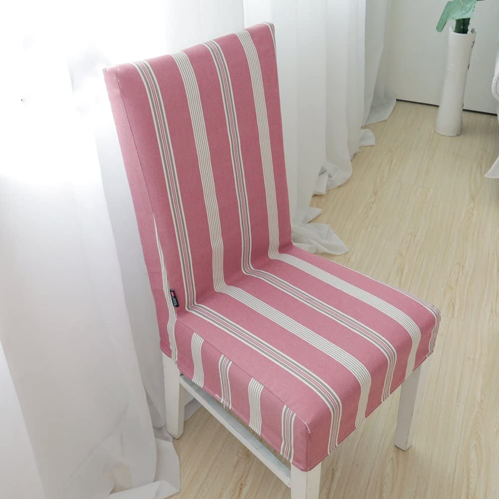 D&LE Chair Cover Removable Washable Chair Cover Hotel Home Chair Cover Hotel Dining Room Ceremony Chair Cover-E