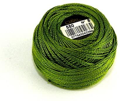 DMC Cotton Perle Thread Size 8 580 - per 10 gram ball