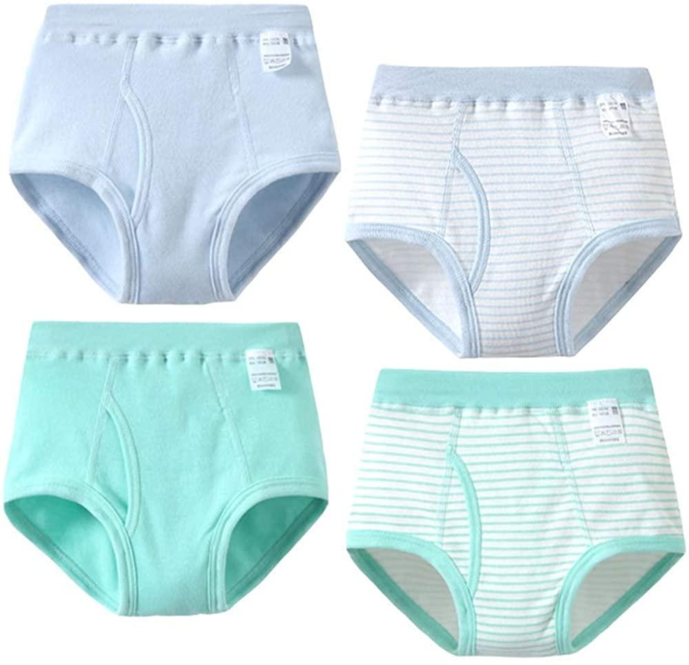 Girl Floral Briefs Panty Bundle Panties Breathable Underwear Pack of 4