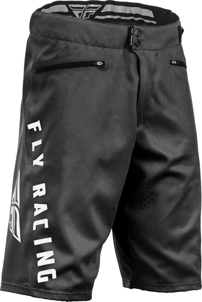 Fly Racing Radium Men's MTB Cycling Shorts - Black / 36