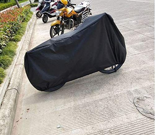 zwenzh XXL 210D Oxford Fabric Waterproof Motorcycle Cover for Harley-Davidson Street