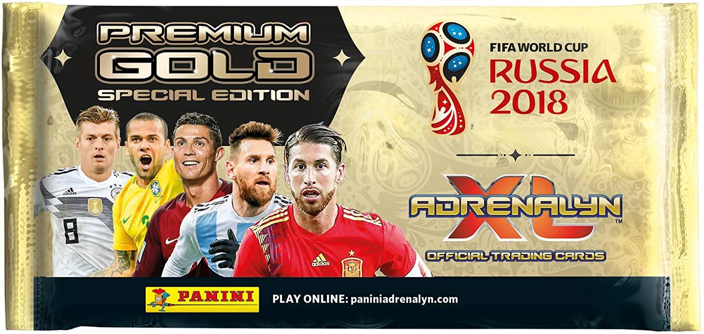Panini FIFA World Cup 2018 Adrenalyn XL Premium Gold Pack