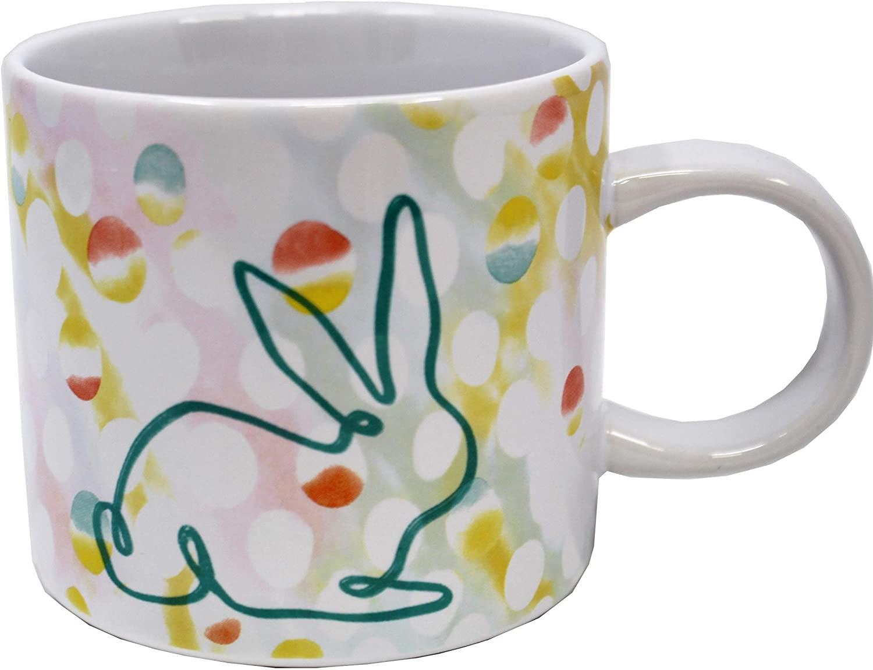 Starbucks Holiday 2019 Spring Easter Rabbit Ceramic 12oz Mug