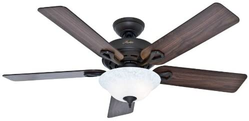 Hunter Fan Company Hunter 53048 Transitional 52``Ceiling Fan from Kensington Collection Dark Finish, Inch, New Bronze