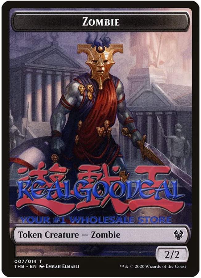 x4 Zombie Token 007/014 Token theros Beyond Death