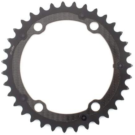 Carbon-Ti Chainring X-CarboRing BCD 110X4 Inner for AXS, 35T