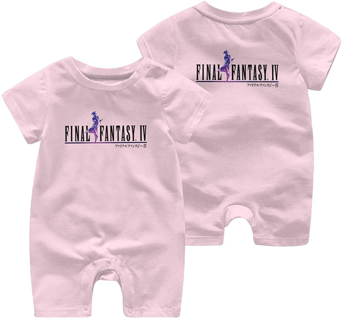 N/C Final Fantasy Leisure Baby Short Sleeve Jumpsuit Kid Breathable Baby Pajama Sleeper Cotton Romper