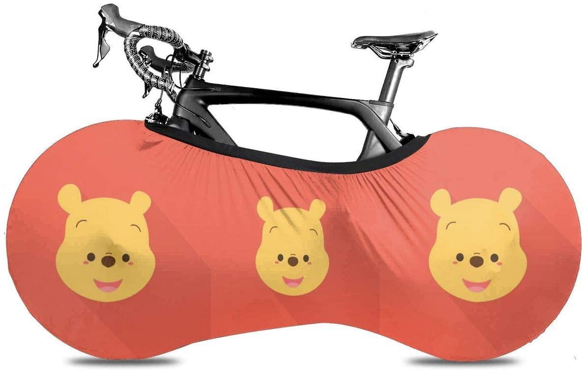 UHBBT Bike Wheel Cover, Dustproof Scratchproof Winnie Bicycle Storage Bag for Mountain, Road, MTB Bikes