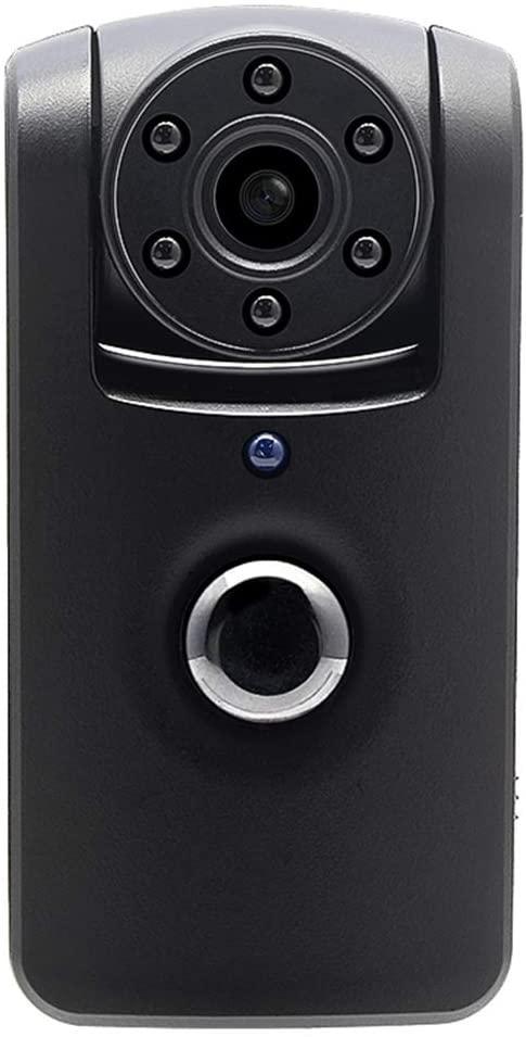 PIR HD Mini Camera Battery Surveillance Camera Rotating Lens Recorder