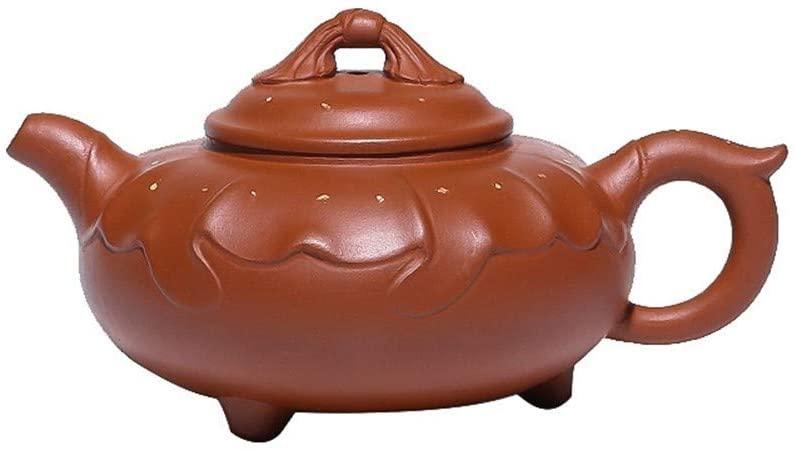 SHENLIJUAN Boutique teapot ore Zhuni flower pot hand-goods Tiannvsanhua (Color : Purple mud)