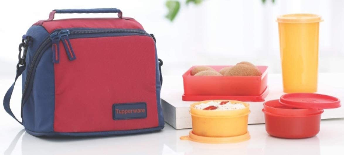Tupperware Best Lunch Set With Bag, 4-Pieces,