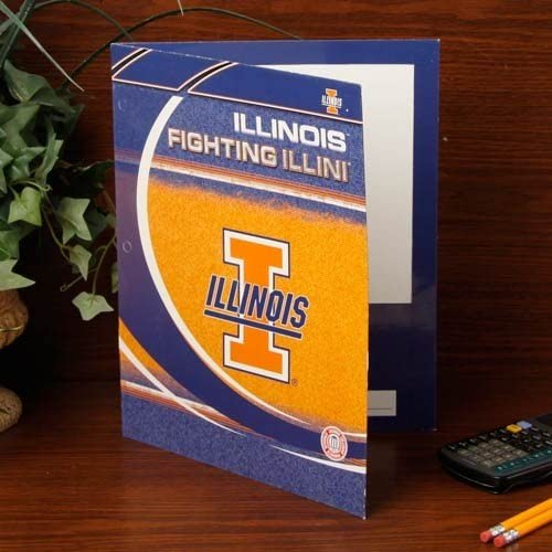 NCAA Illinois Fighting Illini Folder