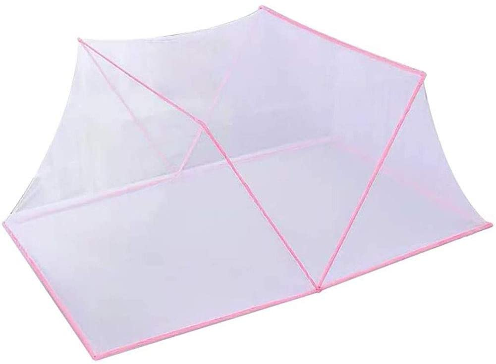 SHKY Foldable Baby Mosquito Net, Dual Density Polyester Filament Network, Portable Home and Travel Outdoor Mosquito Net