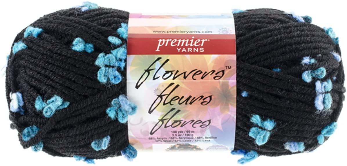 Premier Yarns Flowers Yarn, Aurora