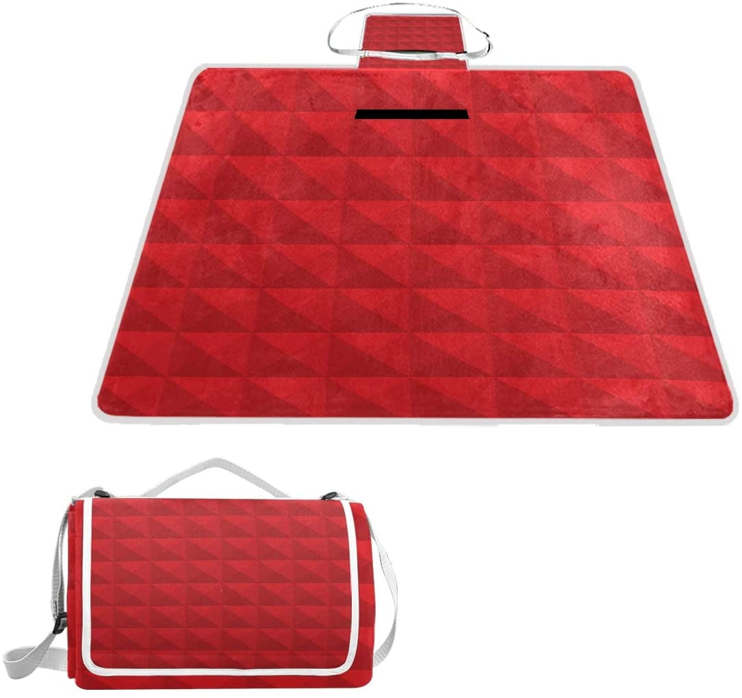 Outdoor Blanket, Picnic Blanket,Moisture-Proof Blanket, Suitable for Picnic Camping, Folding Into a Bag Can be Carried on The Shoulder