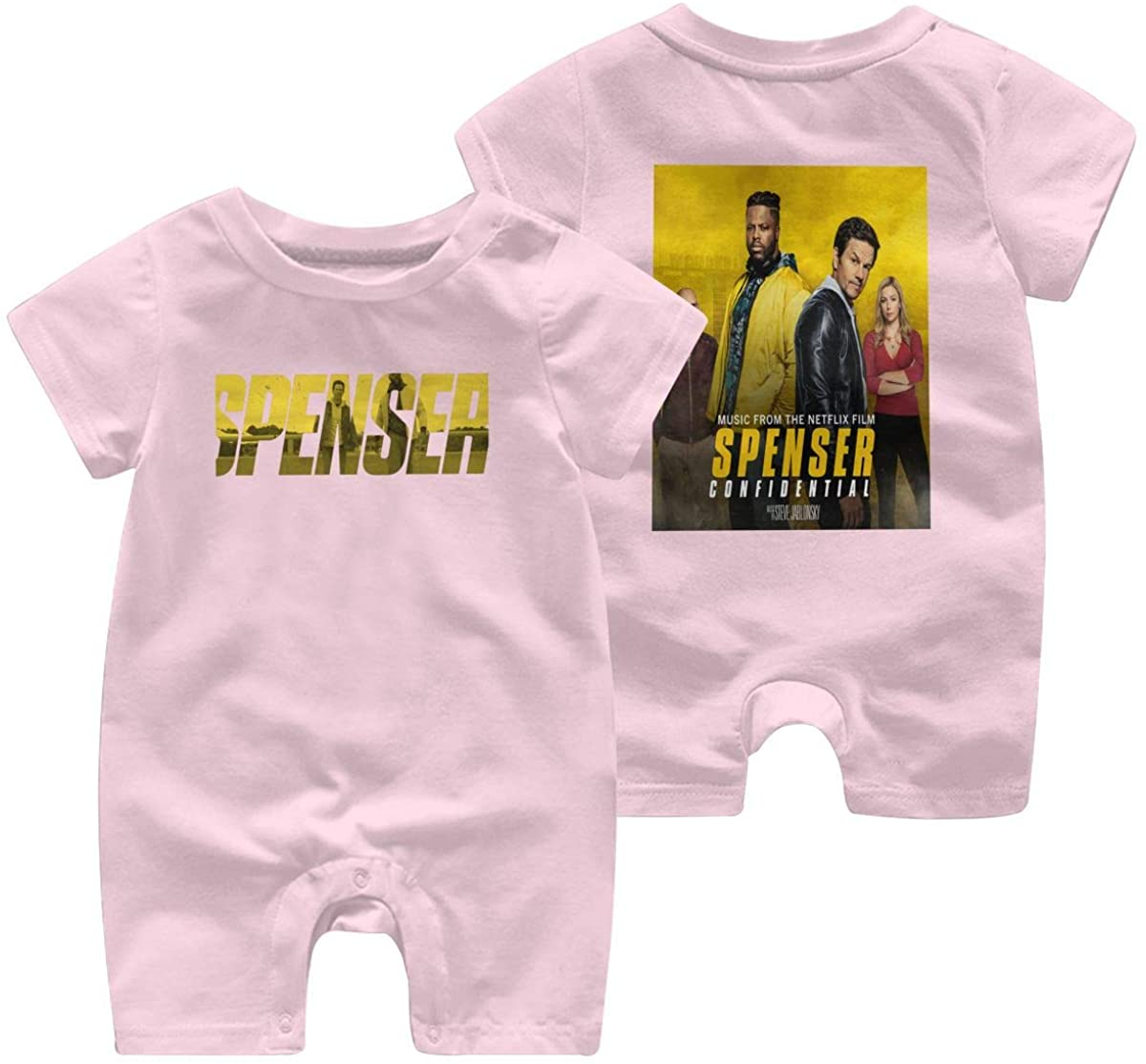 Adsfghre Spenser Confidential Baby Short Sleeve Jumpsuit Kid Baby Pajama Funny Cotton Romper