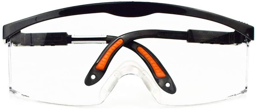 QYY Protective Safety Glasses, UV Protection Safety Goggles ANSI Z87.1 - OSHA Standards, Personal Protective Equipment for Construction/Riding/DIY/Lab & Home