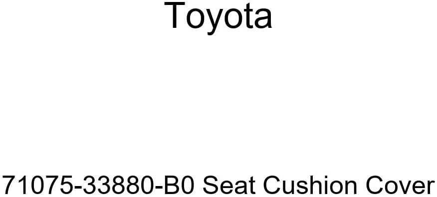 TOYOTA Genuine 71075-33880-B0 Seat Cushion Cover