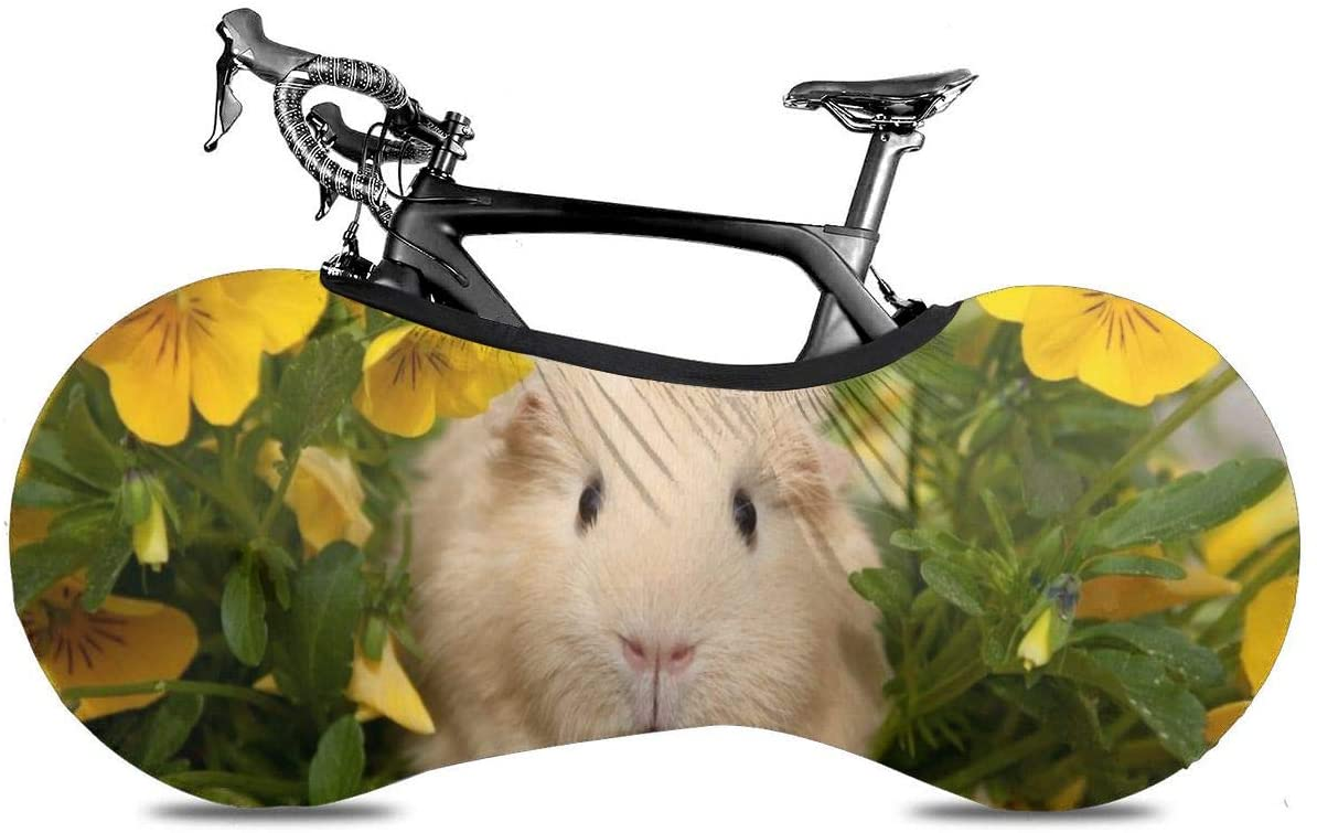 THONFIRE Bicycle Wheel Cover Rabbit Flowers Anti-Dust Storage Bag Thicken Uv Dust Sun for Mountain Road Electric Tricycle