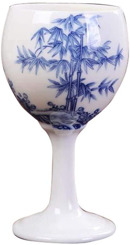 DRAGON SONIC 150 ML Chinese Creative Wine Glass, 1 PC Ceramic Goblet, B06
