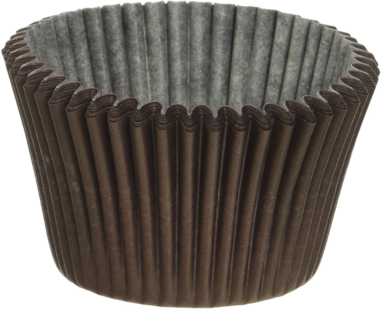 Cupcake Creations Jumbo Baking Cups (24/Pkg), Brown