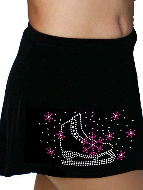ChloeNoel A-Line Skate Skirt w/Lay-Back Skater Crystal