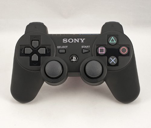PS3 PLAYSTATION 3 Black Modded Controller (Rapid Fire) COD Black Ops - JITTER, DROP SHOT, AUTO AIM