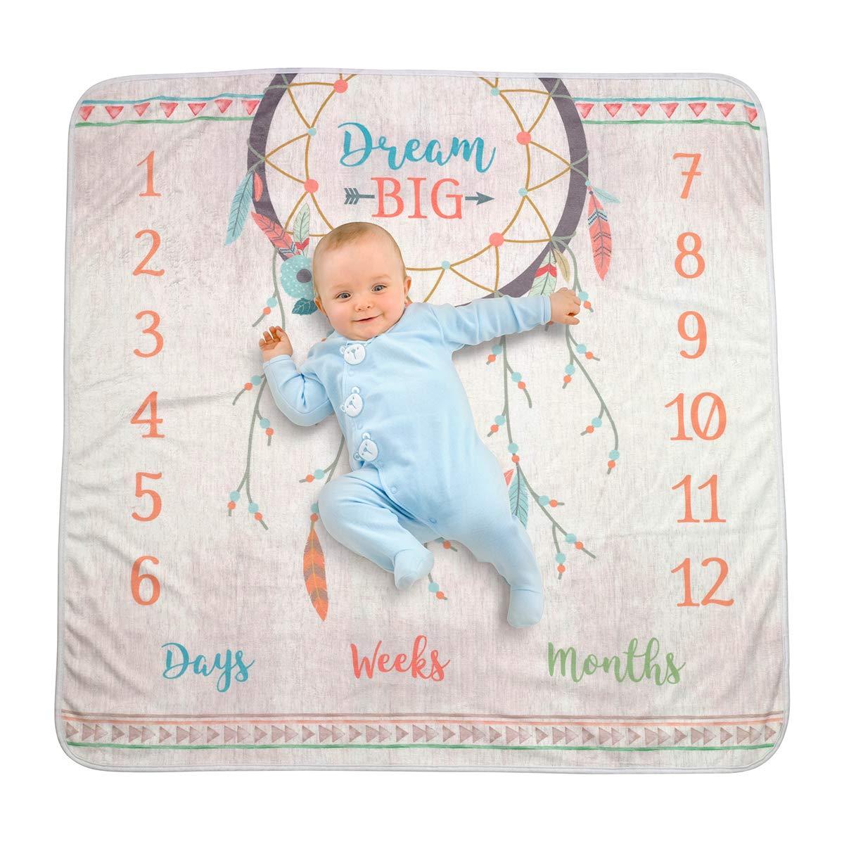 Lillian Rose Dream Big Boho Baby Blanket