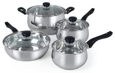 Os Rametto 8 Pc Cookware Set