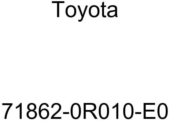 TOYOTA Genuine 71862-0R010-E0 Seat Cushion Shield