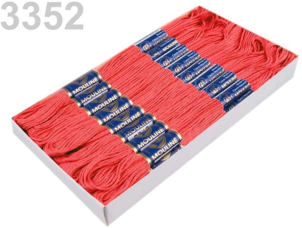 24pc -1 Emberglow Cotton Embroidery Yarn Mouline Nitarna Czech Rep, Knitting, Crochet, Haberdashery