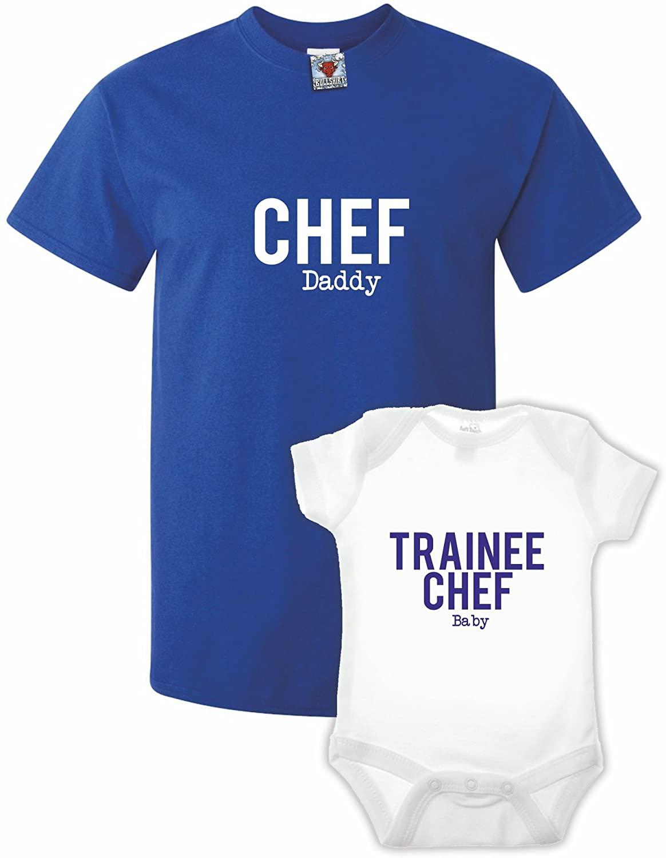 Bullshirt Chef Tshirt & Babygrow Double Pack