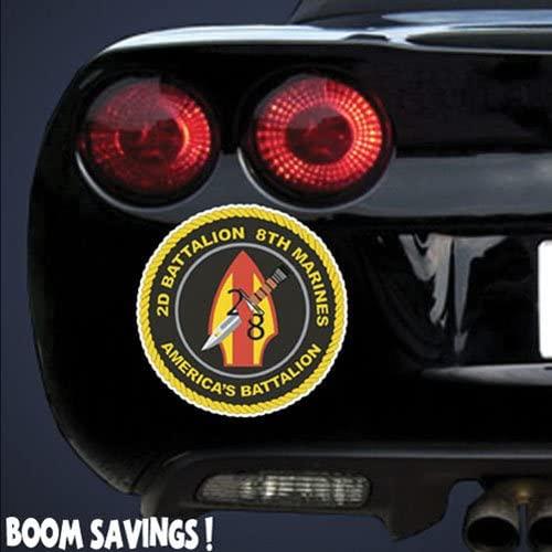 Marines USMC 2nd Battalion 8th Marines SSI 6