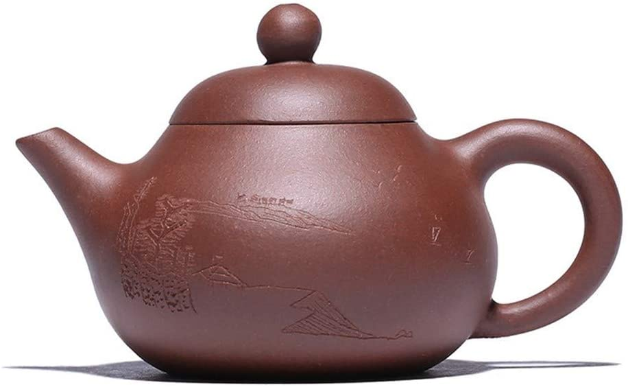 Bin Zhang Ore purple clay teapot tea Qing Yun (Color : Red)